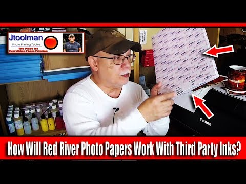 How Will Red River Photo Papers Work With Third Party Inks?
