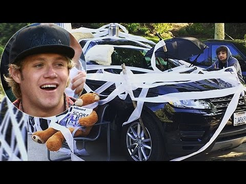 One Direction's Niall Horan Gets Pranked By Liam Payne And Louis Tomlinson!