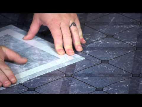 How to Install Vinyl Floors Over Linoleum : Working on Flooring