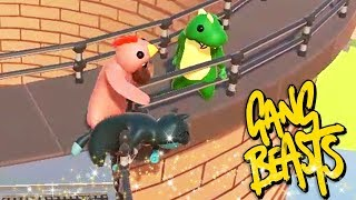 JUST YOU... AND MEEE? | Gang Beasts Online Funny Moments Part 35