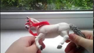 как сделать уздечку на лошадь из резиночек