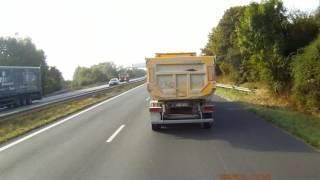 Camera embarquée Dashcam trucker europe