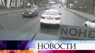 ВНижнем Новгороде автохам решил «проучить» водителя, который вел автобус сошкольниками.
