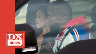 Kanye West & Kim Kardashian Spotted Having Tear Filled Talk After Trip To Wyoming Wendys