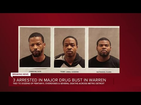 3 arrested in major drug in Warren