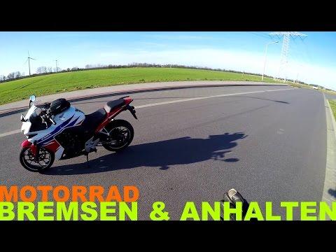 Motorrad: Bremsen und Anhalten - So einfach geht's | Piotrrr Moto