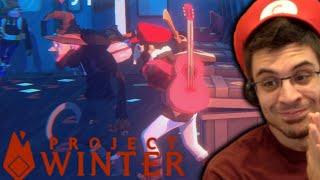 MURDEROUS KARMA & BETRAYAL! (Project Winter w/ Friends)