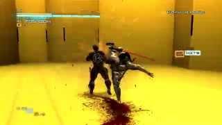 Metal Gear Rising - Shield soldier glitch