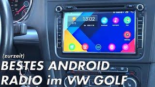 BESTES Android Radio im VW GOLF 6 VI - Einbau und Test