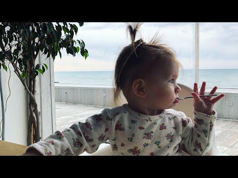 Развитие ребенка в 9 месяцев.Выбираем обувь. Сон. Маникюр. Клавиши. Прыжки.