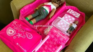 How To Travel With Your American Girl Doll ~ Two Night Hotel Vacation Stay