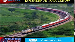 Book Nominal Charges Train Ambulance Services in Jamshedpur by Medivic