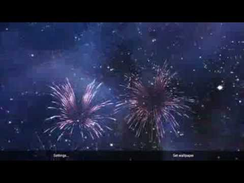 Video of KF Fireworks Live Wallpaper