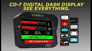 AEM: CD-7/CD-7L Digital Racing Dash Displays