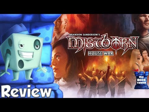 Mistborn: House War Review - with Tom Vasel