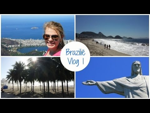 Brazilië Vlog 1:Corcovado, Copacabana & Churrascaria