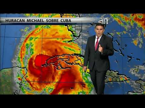 Huracán Michael  está azotando fuertemente al occidente de Cuba para luego tomar rumbo a la Florida