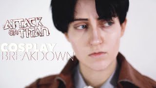 LEVI ACKERMAN Attack On Titan | Cosplay Costume Breakdown