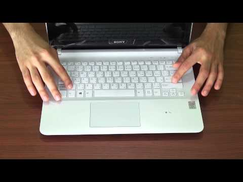Sony Vaio Fit 14E - Unboxing (Haswell, GT 700 series) - 2014