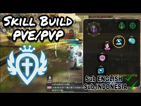 INQUISITOR SKILL BUILD AND SET LVL 55 CAP CONTINOUSLY - DRAGON NEST
