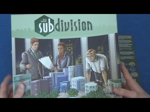 Subdivision - How To Play Solo