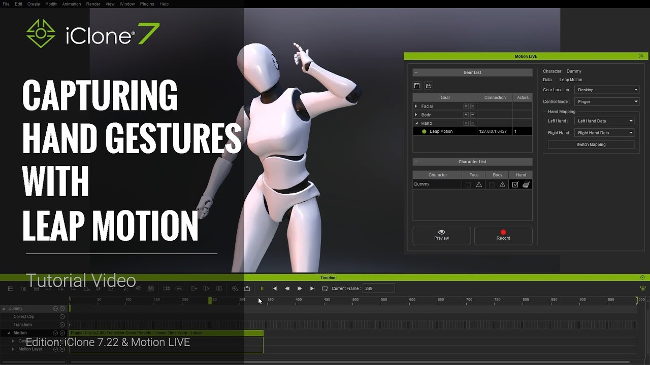 Motion LIVE | Tutorial | Reallusion