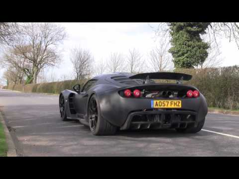 Hennessey Venom GT Prototype – Road Testing in England