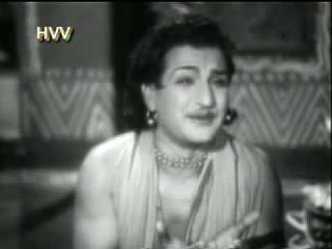 ntr sees lord krishna in ntr pandu ranga mahatyam