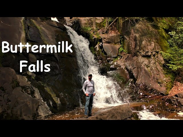 buttermilk falls lehigh gorge state park pennsylvania