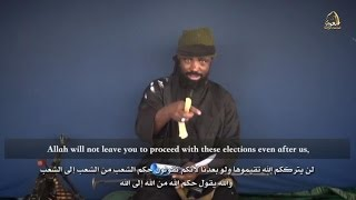 تحميل و مشاهدة Boko Haram leader vows to disrupt Nigeria election in new video MP3