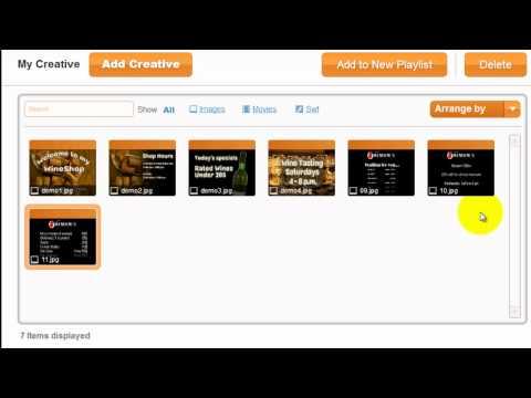 Video of NoviSign Digital Signage Flash