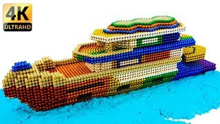 DIY - How To Build Amazing Modern Yacht With Magnetic Balls - 100% Satisfaction - Magnet Balls