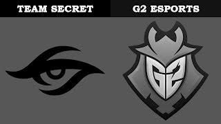 Secret vs G2 @Villa   Rainbow6 VODs   Pro League Season 9 - Europe (11.01.2019)