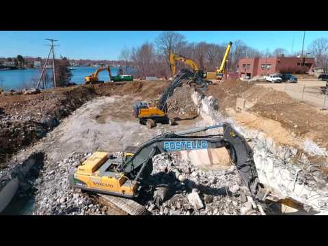3 30 2017 – Aerial Video Peirce Island Wastewater Treatment Facility