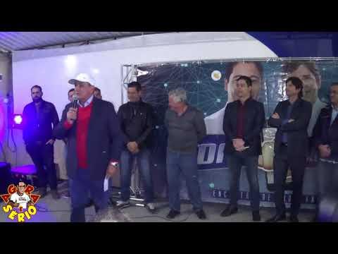 Prefeito Ayres Scorsatto junto e Misturado com o Deputado Federal Marcio Alvino e Deputado Estadual André do Prado no Encontro com Lideranças em Juquitiba
