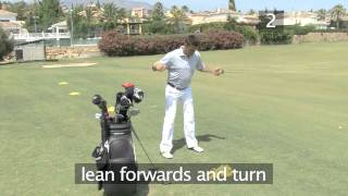 Golf: How To Warm Up On The Driving Range