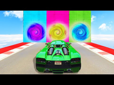 Which Portal Is The RIGHT One?! (GTA 5 Funny Moments)