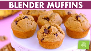 Healthy BLENDER Muffins | 7 Gluten Free Breakfast Muffins + FREE eBook!