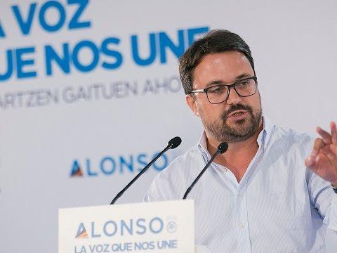 Asier Antona interviene en el encuentro de presidentes autonómicos del PP