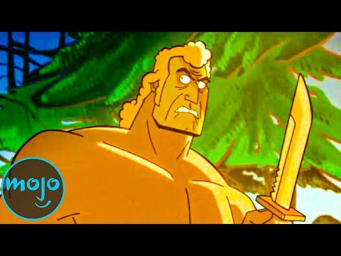 Top 10 Cartoon Characters Better Than The Hero