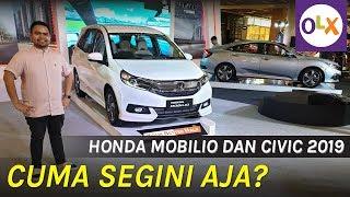 First Impression Honda Mobilio dan Civic Facelift 2019 | OLX Indonesia