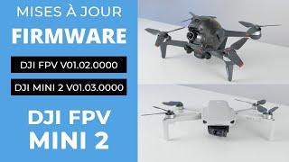 MISES À JOUR FIRMWARE DJI FPV et DJI MINI 2 + DJI FLY 1.4.4