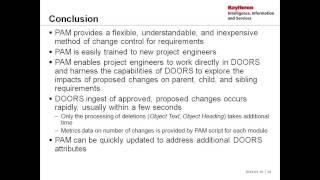 DOORS Enlightenment - Proposed Attribute Method; A Flexible Method of Change Control for DOORS