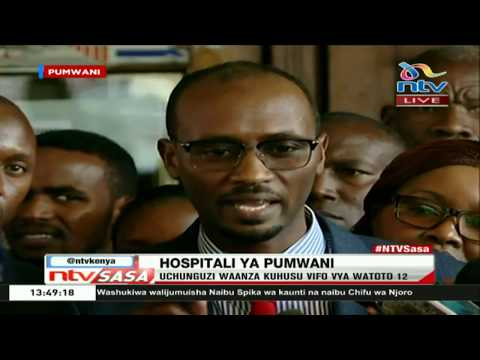 "Chief officer of health, Pumwani: ""Infant bodies found can be accounted for."""