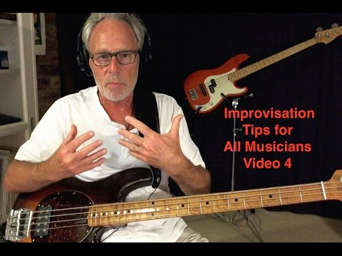 Improvisation Tips for All Musicians - Video 4