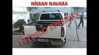Nissan Navara 2.5 dizel hidrojen yakıt sistem montajı