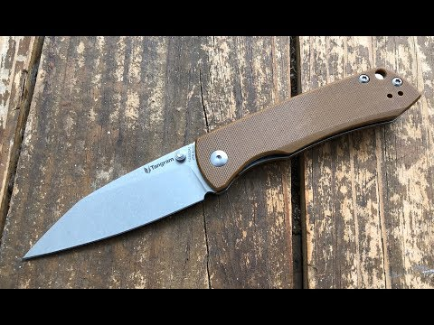 The Tangram Knives Santa Fe Pocketknife: A Quick Shabazz Review