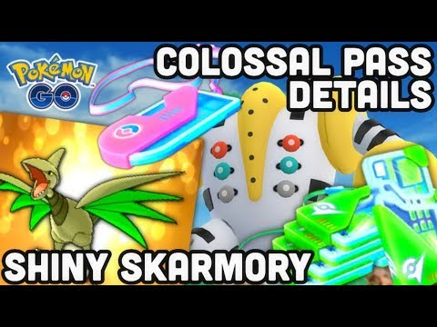 Colossal Pass Event details in Pokemon GO | Shiny Skarmory & Trio | Is the Colossal pass worth it?