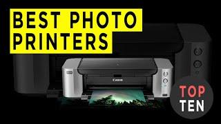 Top Ten Best Home Photo Printers - 2020