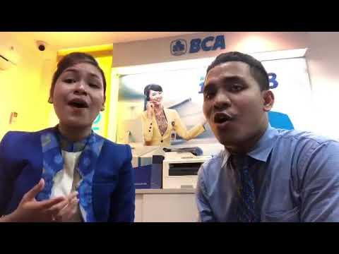 Suara emas pegawai Bank BCA Kota Ambon.